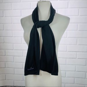 Land's End Black Fleece Scarf
